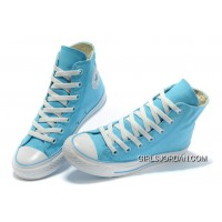 Overseas Edition CONVERSE New Color Sky Blue Chuck Taylor All Star Canvas Women Shoes Best