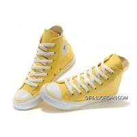 CONVERSE New Color Lemon Yellow Chuck Taylor All Star Canvas Women Shoes Best