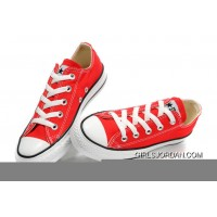 Red CONVERSE All Star Chuck Taylor Canvas Shoes Authentic