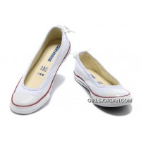 CONVERSE All Star Light Summer White Ballet Flats Dainty Ballerina Canvas Ladies Shoes Super Deals