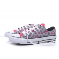 CONVERSE Graffi Stars Print Chuck Taylor All Star Women Grey Online