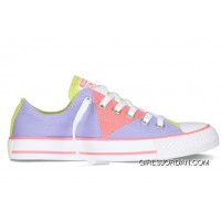 CONVERSE Chuck Taylor Multi Pancel Summer Ice Cream Purple Pink Yellow All Star Canvas Women Sneakers For Sale