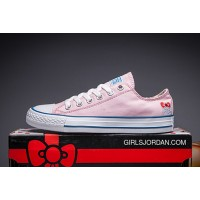Pink Hello Kitty X CONVERSE Chuck Taylor All Star New Release
