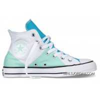 CONVERSE Multi Pancel Summer Ice Cream White Mint Green Chuck Taylor All Star Canvas Women Shoes For Sale