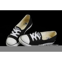 Black CONVERSE Ballet Flats Dainty Ballerina Chuck Taylor All Star Summer Traning Shoes Ladies Women Girls Super Deals