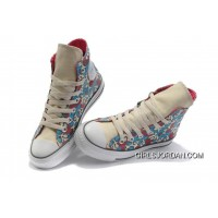 CONVERSE High Tops All Star Leopard Camouflage Canvas Shoes Women Lastest