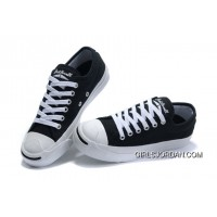 Black CONVERSE Jack Purcell Canvas Shoes Discount