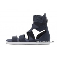 CONVERSE Blue Chuck Taylor All Star Elastic Band Roman Sandals Top Deals