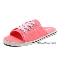 Pink All Star Light CONVERSE Slippers Summer Collection By Avril Lavigne Canvas Best