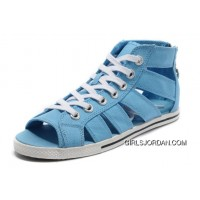 Blue All Star CONVERSE Roman Shoes By Avril Lavigne Canvas Online