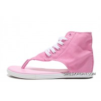 CONVERSE Age Chuck Taylor All Star Pink Roman Sandals Flip Flops New Style