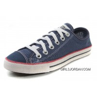 Blue CONVERSE Chuckout Summer Collection Mesh Style Tops Casual Shoes Best