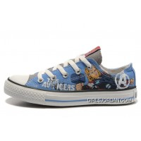 Thor CONVERSE Shoes Marvel Comics The Avengers Blue Canvas Cheap To Buy