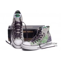 CONVERSE Chuck Taylor DC Comics Batman Arkham City Grey Print High Tops All Star Canvas Shoes New Release