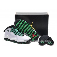 "Girls Air Jordan 10 ""Verde"" 2017 For Sale"