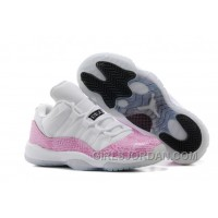 "Girls Air Jordan 11 Low ""Pink Snakeskin"" For Sale Top Deals"