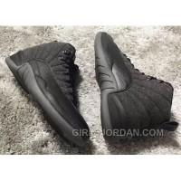 852627-003 Air Jordan 12 Wool Grey Silver Black For Sale Cheap To Buy