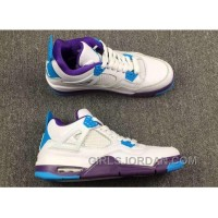"Super Deals 2017 Air Jordan 4 ""Hornets"" For Sale"