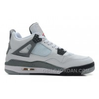 Air Jordan 4 White/Black-Cement Grey For Sale Authentic