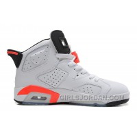"Air Jordan 6 ""Infrared"" White/Infrared-Black For Sale Online"