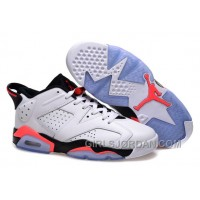 "Girls Air Jordan 6 Low ""White Infrared"" For Sale"
