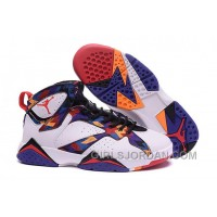 "2017 Girls Air Jordan 7 ""Nothing But Net"" For Sale Free Shipping"
