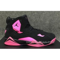 2017 Girls Air Jordan 7 Pink Black For Sale