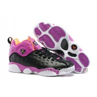 Girls Jordan Jumpman Team 2 Black/Hyper Orange-Purple Dusk-White For Sale Lastest