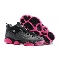 Girls Jordan Jumpman Team 2 Dark Grey/Vivid Pink/Black/Metallic Silver For Sale Lastest