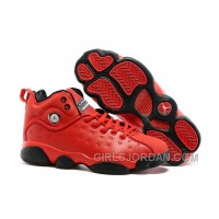 "Girls Jordan Jumpman Team 2 ""Raging Bull"" All-Red For Sale Super Deals"