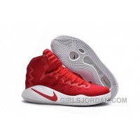 Girls Nike Hyperdunk 2016 University Red/White/University Red For Sale