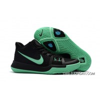 Girls Nike Kyrie 3 Black Grass Green Discount