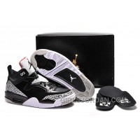 "Mens Jordan Son Of Mars Low ""Black Cement"" For Sale Discount"