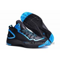 Mens Jordan Super.Fly 2 PO Black-Dark Powder Blue For Sale Discount