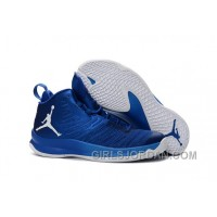 Mens Jordan Super.Fly 5 Game Royal/Photo Blue/White For Sale Christmas Deals
