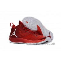 Mens Jordan Super.Fly 5 Gym Red/Infrared 23/White For Sale Christmas Deals