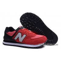 New Balance 574 2016 Men Red Black Authentic