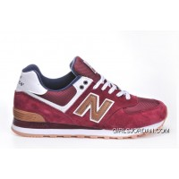 New Balance 574 2016 Men Red Discount