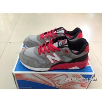 2016 New Balance 580 Men Gery Red Cheap To Buy
