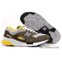 New Balance 1600 Men Olive Green Authentic