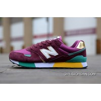 New Balance 446 Men Dark Red Copuon Code