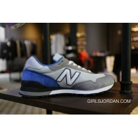New Balance 515 Men Grey Blue Free Shipping