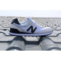 New Balance 515 Men White Black Super Deals