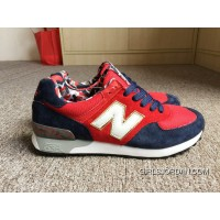 New Balance 576 Men Red Authentic