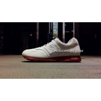 New Balance 576 Men White Red Authentic