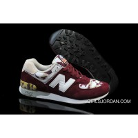 New Balance 576 Men Wine Red Super Deals