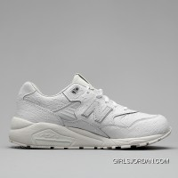 New Balance 580 Men All White Free Shipping