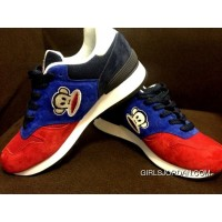 New Balance 670 Men Blue Red Free Shipping