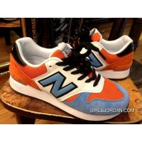 New Balance 670 Men Orange Blue Free Shipping