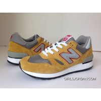Balance 670 Men Yellow New Release